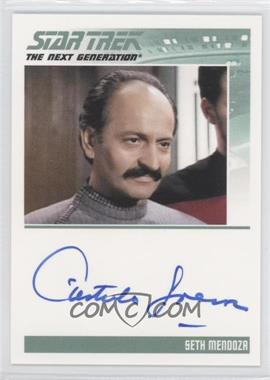 2011 Rittenhouse The Complete Star Trek: The Next Generation Series 1 - Autographs #CAGU - Castulo Guerra