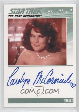 2011 Rittenhouse The Complete Star Trek: The Next Generation Series 1 - Autographs #CAMC - Carolyn McCormick