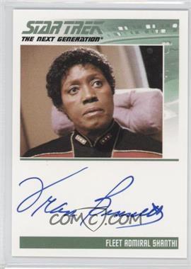 2011 Rittenhouse The Complete Star Trek: The Next Generation Series 1 - Autographs #FRBE - Fran Bennett