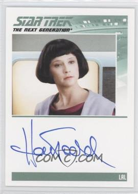 2011 Rittenhouse The Complete Star Trek: The Next Generation Series 1 - Autographs #HATO - Hallie Todd