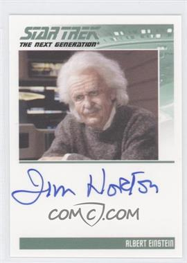 2011 Rittenhouse The Complete Star Trek: The Next Generation Series 1 - Autographs #JINO - Jim Norton