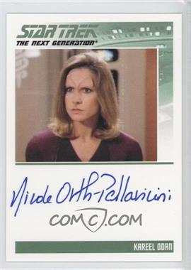 2011 Rittenhouse The Complete Star Trek: The Next Generation Series 1 - Autographs #NIOR - Nicole Orth-Pallavicini