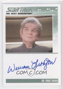 2011 Rittenhouse The Complete Star Trek: The Next Generation Series 1 - Autographs #WILI - William Lithgow