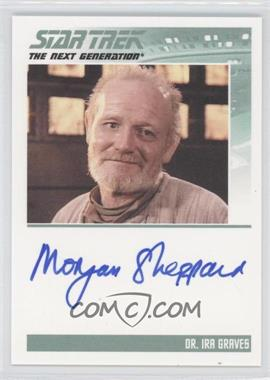 2011 Rittenhouse The Complete Star Trek: The Next Generation Series 1 - Autographs #WSH - W. Morgan Sheppard