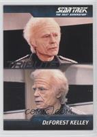 DeForest Kelley as Admiral Leonard McCoy