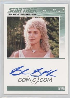 2011 Rittenhouse The Complete Star Trek: The Next Generation Series 1 Autographs #BRBA - Brenda Bakke