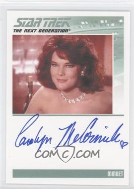 2011 Rittenhouse The Complete Star Trek: The Next Generation Series 1 Autographs #CAMC - [Missing]