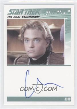 2011 Rittenhouse The Complete Star Trek: The Next Generation Series 1 Autographs #CHAL - Chad Allen