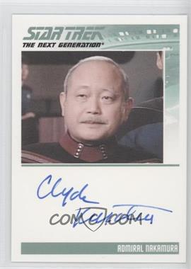2011 Rittenhouse The Complete Star Trek: The Next Generation Series 1 Autographs #CLKU - Clyde Kusatsu