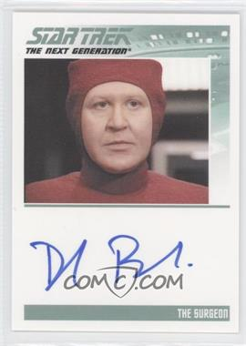 2011 Rittenhouse The Complete Star Trek: The Next Generation Series 1 Autographs #DAME - Daniel Benzali