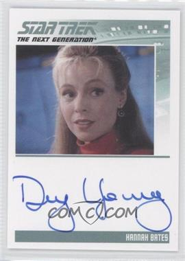 2011 Rittenhouse The Complete Star Trek: The Next Generation Series 1 Autographs #DEYO - Dey Young