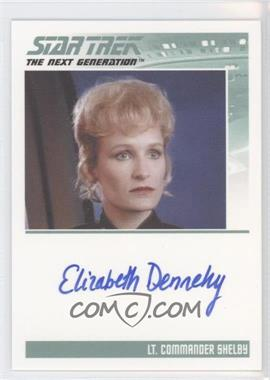 2011 Rittenhouse The Complete Star Trek: The Next Generation Series 1 Autographs #ELDE - Elizabeth Dennehy