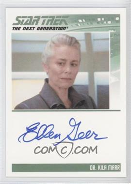 2011 Rittenhouse The Complete Star Trek: The Next Generation Series 1 Autographs #ELGE - Ellen Geer