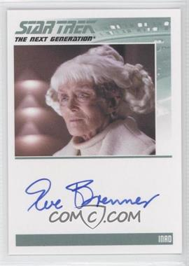 2011 Rittenhouse The Complete Star Trek: The Next Generation Series 1 Autographs #EVBR - [Missing]