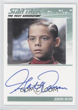 2011 Rittenhouse The Complete Star Trek: The Next Generation Series 1 Autographs #GADA - Gabriel Damon