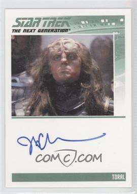 2011 Rittenhouse The Complete Star Trek: The Next Generation Series 1 Autographs #JDCU - J.D. Cullum