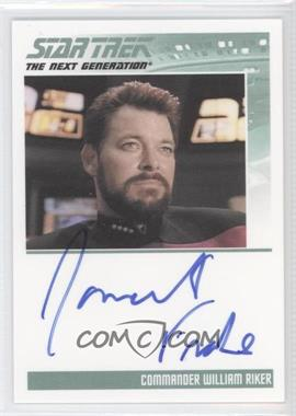 2011 Rittenhouse The Complete Star Trek: The Next Generation Series 1 Autographs #JOFR - Jonathan Frakes