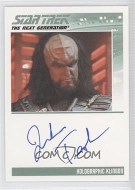 2011 Rittenhouse The Complete Star Trek: The Next Generation Series 1 Autographs #JOTE - John Tesh