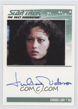 2011 Rittenhouse The Complete Star Trek: The Next Generation Series 1 Autographs #JUNI - Julia Nickson