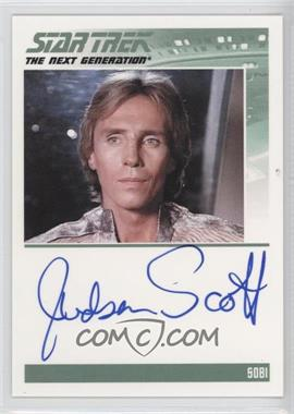 2011 Rittenhouse The Complete Star Trek: The Next Generation Series 1 Autographs #JUSC - Judson Scott