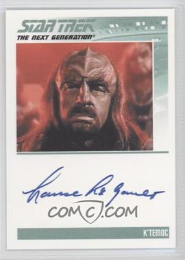2011 Rittenhouse The Complete Star Trek: The Next Generation Series 1 Autographs #LALE - [Missing]