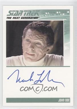 2011 Rittenhouse The Complete Star Trek: The Next Generation Series 1 Autographs #MALA - Mark La Mura