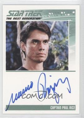 2011 Rittenhouse The Complete Star Trek: The Next Generation Series 1 Autographs #MARO - Marco Rodriguez