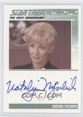 2011 Rittenhouse The Complete Star Trek: The Next Generation Series 1 Autographs #NANO - Natalija Nogulich