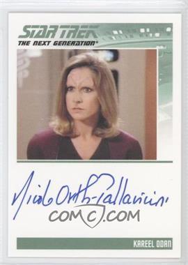 2011 Rittenhouse The Complete Star Trek: The Next Generation Series 1 Autographs #NIOR - Nicole Orth-Pallavicini