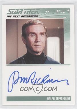 2011 Rittenhouse The Complete Star Trek: The Next Generation Series 1 Autographs #PERI - Peter Mark Richman