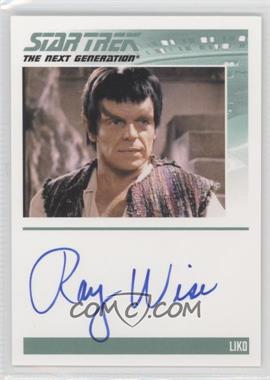 2011 Rittenhouse The Complete Star Trek: The Next Generation Series 1 Autographs #RAWI - Ray Wise
