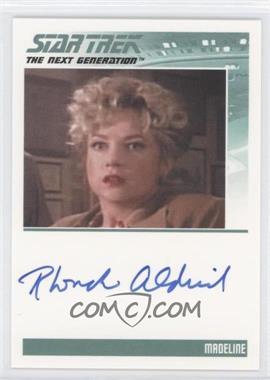 2011 Rittenhouse The Complete Star Trek: The Next Generation Series 1 Autographs #RHAL - Rhonda Aldrich