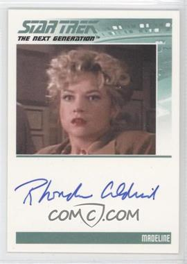 2011 Rittenhouse The Complete Star Trek: The Next Generation Series 1 Autographs #RHAL - Rhonda Aldrich