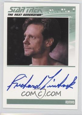 2011 Rittenhouse The Complete Star Trek: The Next Generation Series 1 Autographs #RILI - Richard Lineback