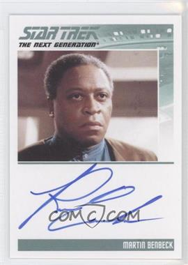 2011 Rittenhouse The Complete Star Trek: The Next Generation Series 1 Autographs #ROCA - [Missing]