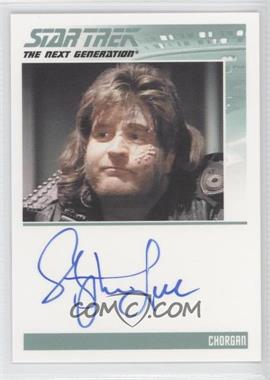 2011 Rittenhouse The Complete Star Trek: The Next Generation Series 1 Autographs #STLE - [Missing]