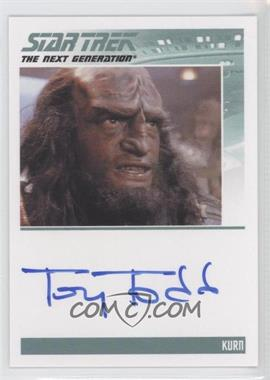 2011 Rittenhouse The Complete Star Trek: The Next Generation Series 1 Autographs #TOTO - Tony Todd