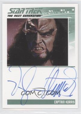 2011 Rittenhouse The Complete Star Trek: The Next Generation Series 1 Autographs #VAAR - Vaughn Armstrong