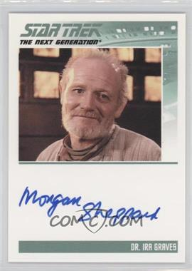 2011 Rittenhouse The Complete Star Trek: The Next Generation Series 1 Autographs #WSH - W. Morgan Sheppard