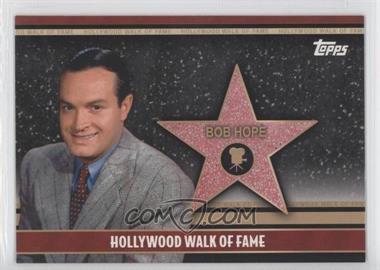 2011 Topps American Pie - Hollywood Walk of Fame #HWF-3 - Bob Hope