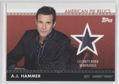 2011 Topps American Pie American Pie Relics #APR-2 - [Missing]