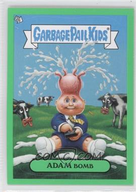 2011 Topps Garbage Pail Kids Flashback Series 2 - Adam Mania - Green #2 - Adam Bomb