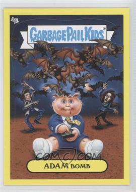 2011 Topps Garbage Pail Kids Flashback Series 2 - Adam Mania - Yellow #5 - Adam Bomb