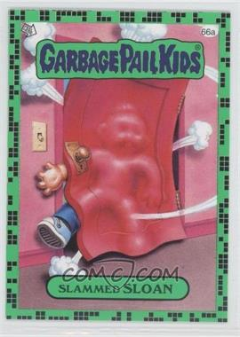 2011 Topps Garbage Pail Kids Flashback Series 2 - [Base] - Gross Green #66a - Slammed Sloan