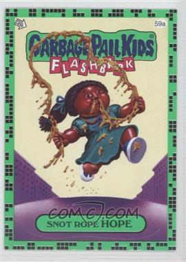 2011 Topps Garbage Pail Kids Flashback Series 2 [???] #59A - [Missing]