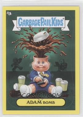 2011 Topps Garbage Pail Kids Flashback Series 2 [???] #6 - Adam Bomb