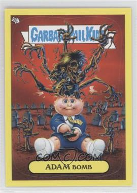 2011 Topps Garbage Pail Kids Flashback Series 2 [???] #8 - Adam Bomb