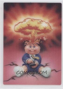 2011 Topps Garbage Pail Kids Flashback Series 2 3D #5 - Adam Bomb