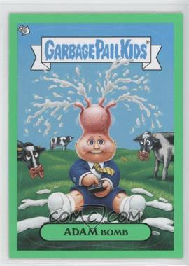 2011 Topps Garbage Pail Kids Flashback Series 2 Adam Mania Green #2 - Adam Bomb