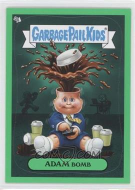 2011 Topps Garbage Pail Kids Flashback Series 2 Adam Mania Green #6 - Adam Bomb